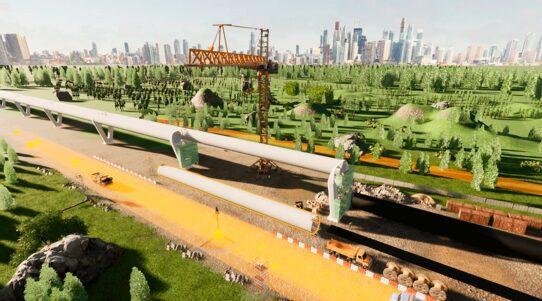 Tubeloop Construction Zeleros & UPV