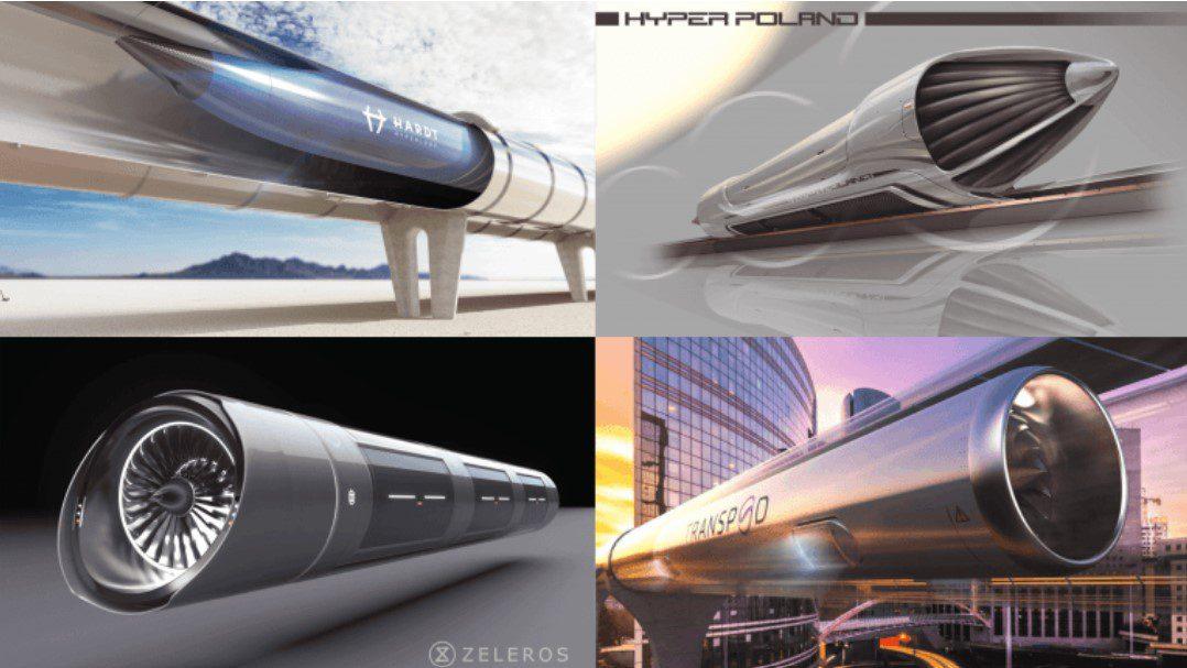 Canadian & European hyperloop leaders