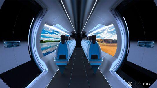 Interior Hyperloop Pod