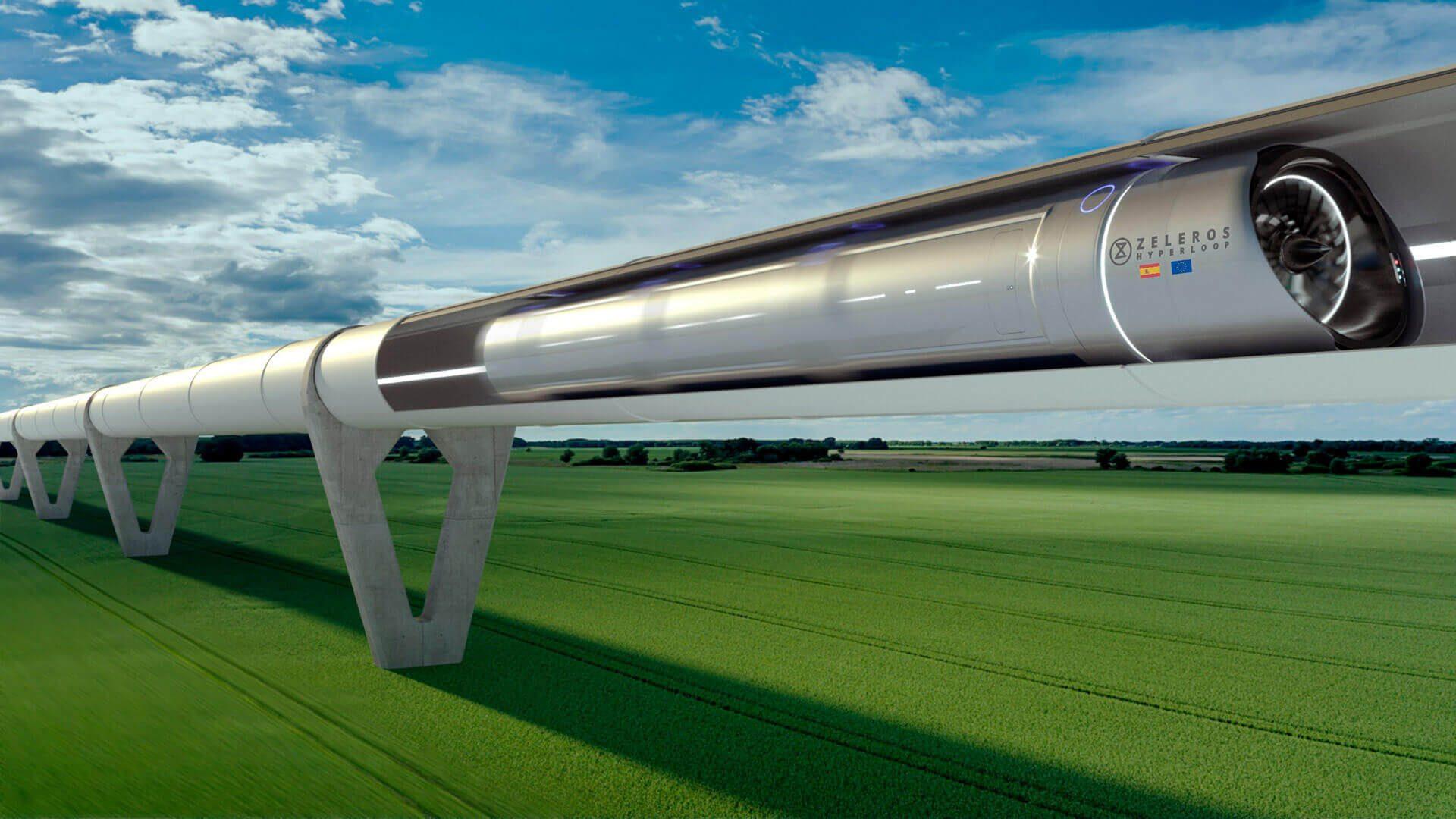 Zeleros Hyperloop integrada