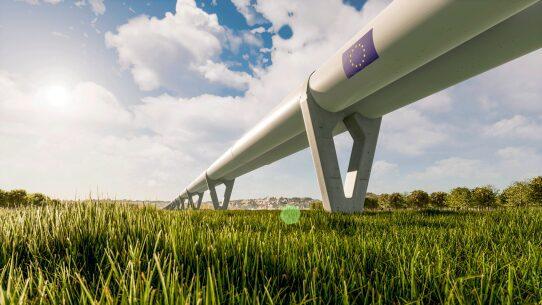 Red europea hyperloop