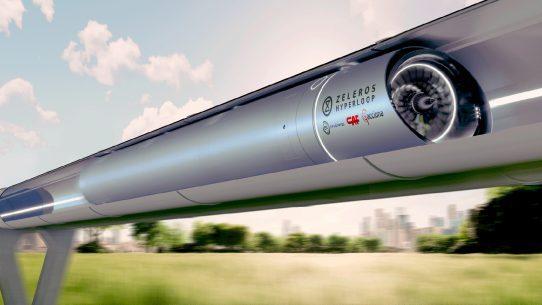 Zeleros Hyperloop Acciona EIT Innoenergy CAF